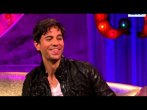 Enrique Iglesias at Alan Carr Chatty Man Show (Interview & P