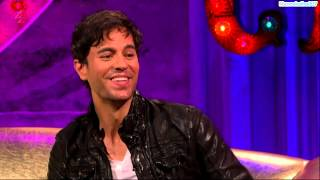 Enrique Iglesias at Alan Carr Chatty Man Show (Interview & Performance) (HD)
