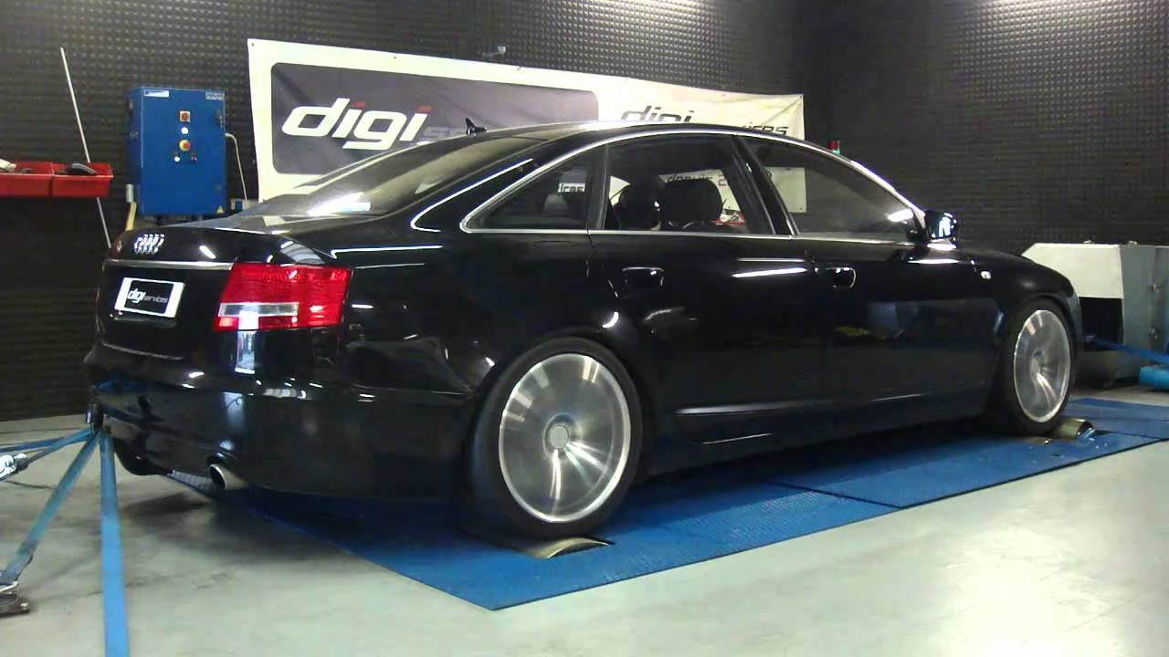 reprogrammation moteur audi a6 3 2l 255cv 264cv dyno digiservices youtube. Black Bedroom Furniture Sets. Home Design Ideas