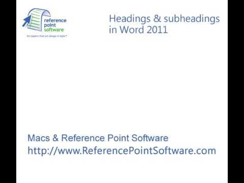 reference point software tutorial