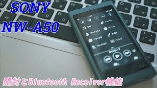 音質デザイン共に美しい。SONYのNW-A50シリーズを購入しました。NW-A50シリーズ