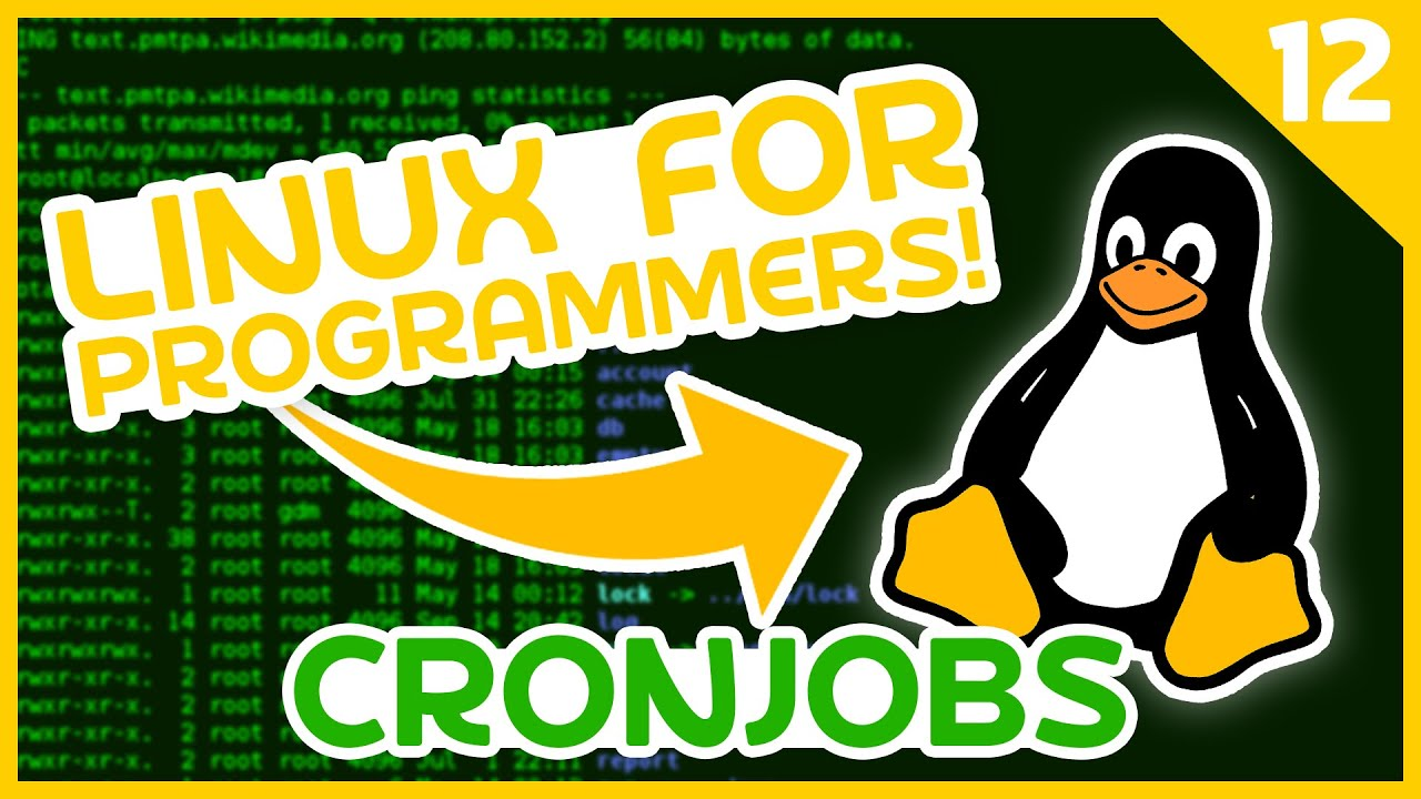 Linux for Programmers #12 - Cronjobs