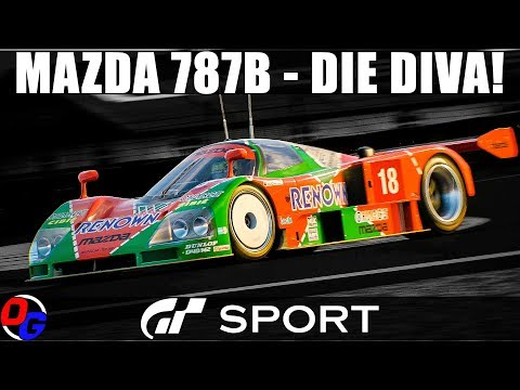 GT SPORT Let's Play Deutsch – Mazda 787B in Le Mans | Gran Turismo 4K Online Gameplay German thumbnail
