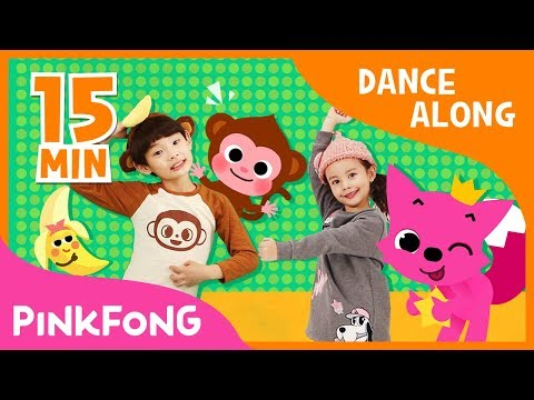 Monkey Banana and more | Dance Along | Dance Compilation | Pinkfong Songs for Children