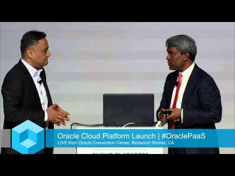 Keynote - Oracle Cloud Platform Launch Event - theCUBE