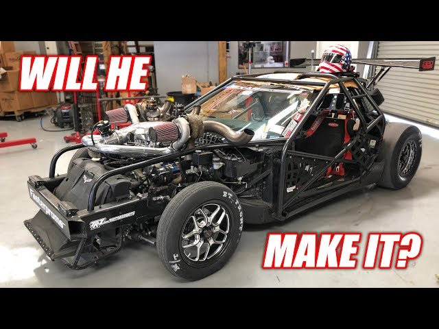 Preparing Leroy to STREET DRIVE Over 1,300 Miles to FIVE Racetracks! **RACECAR ROADTRIP**