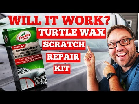 Turtle Wax Scratch Repair Kit Review - Does It Work?