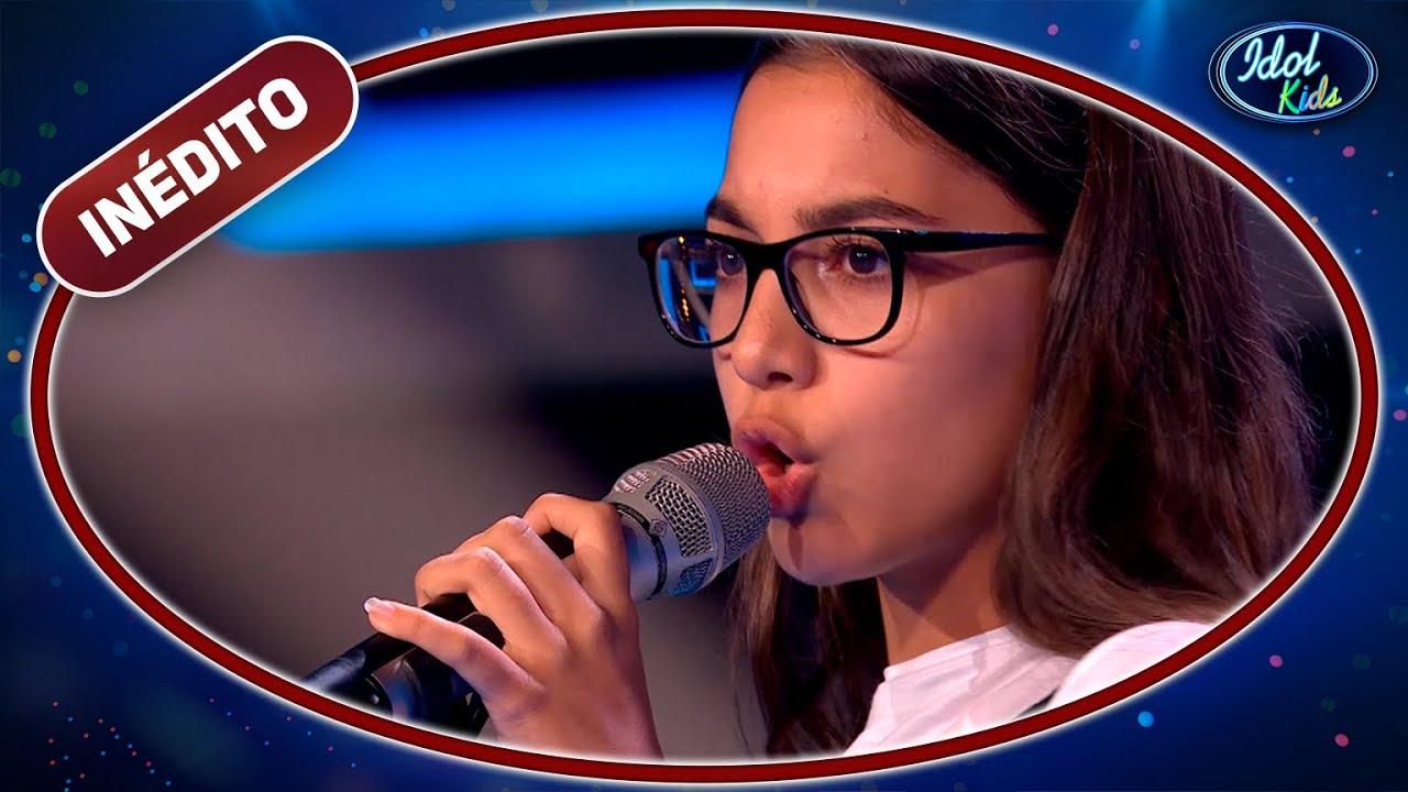 Yeraima Campos deja al jurado en shock con la mítica 'Volver'  Idol Kids 2020   Inéditos