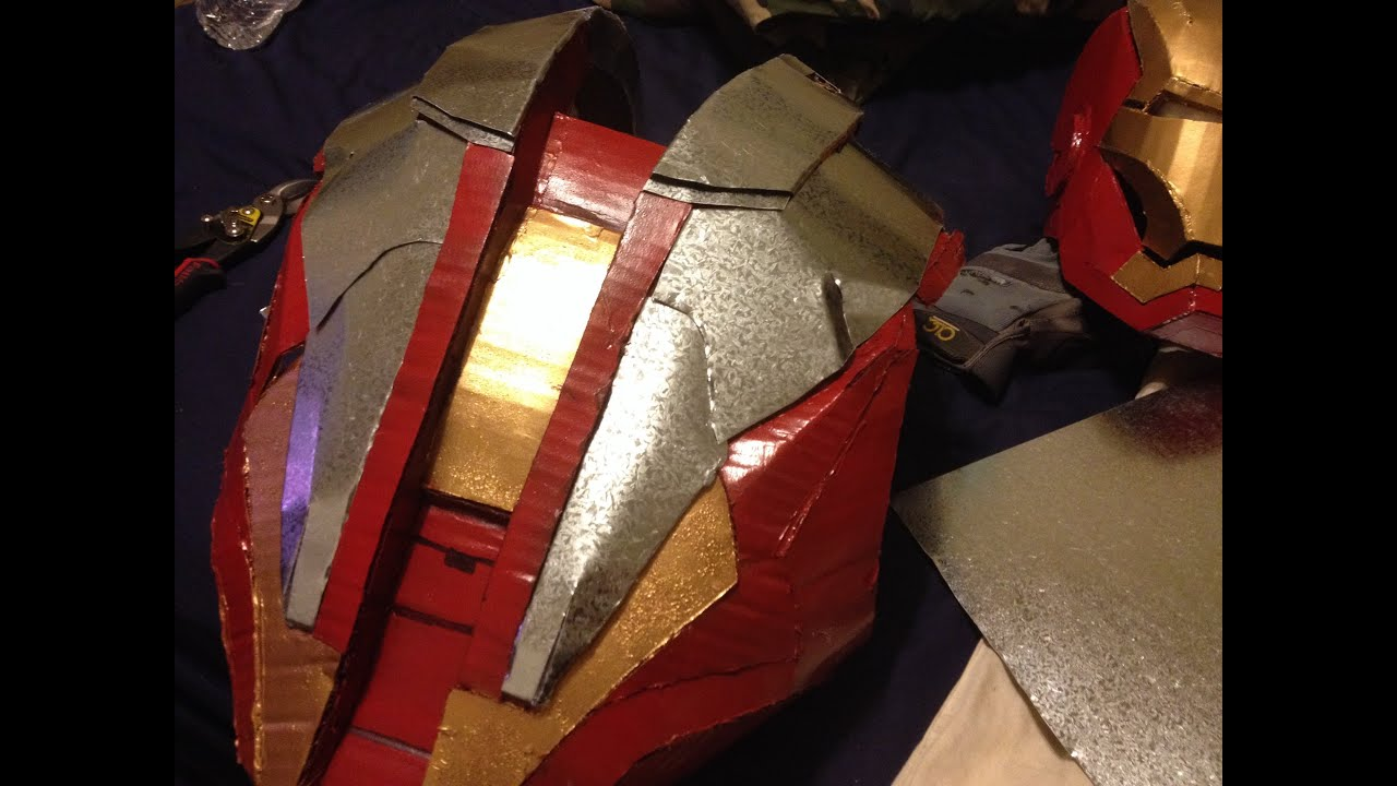 how to build a metal iron man suit