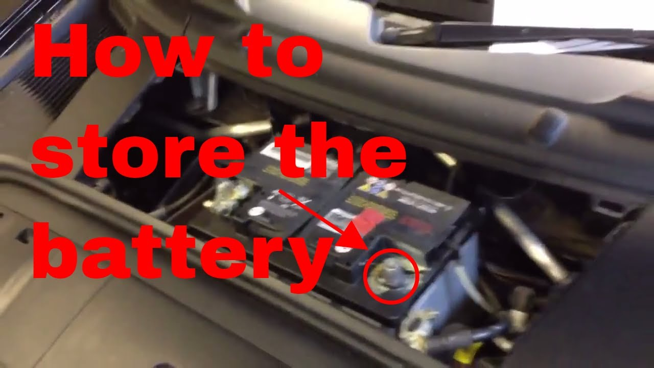 Disconnecting Porsche Boxster Or Cayman Battery For