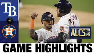 Altuve, Springer homer to keep Astros alive in ALCS | Rays-Astros Game 4 Highlights 10/14/20