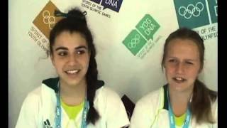 Meet Marioulla Belessis & Laura Waldie    Nanjing 2014 Athlete in Rugby Sevens