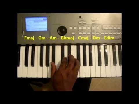 Chords In The Key Of F Major Piano Lesson Youtube