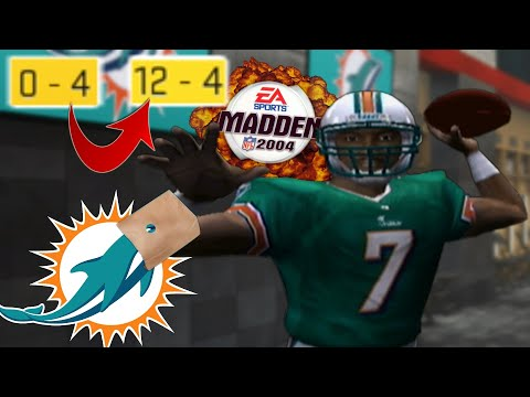 Could Madden 2004 Michael Vick Save The Miami Dolphins?