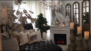 2019 Summer Room Tour!!! French Country, Rustic with A touch of glam!!!'