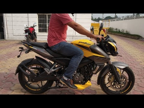#2019 NS200 ABS Iconic Yellow colour is back #alwaysgearup