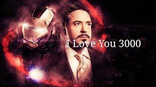 I Love You 3000 Tony Stark A Thousand Years