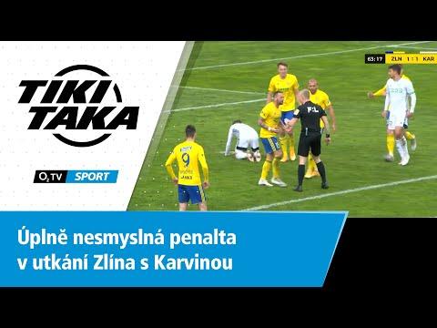TIKI-TAKA: Úplně nesmyslná penalta v zápase Zlína s Karvinou