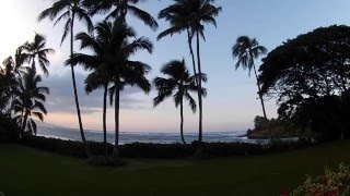 Natural Relaxing Sounds Of Waves North Shore Maui Hawai I Dusk