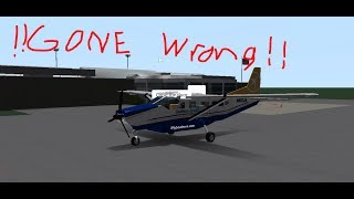 Roblox - Southern Airways Expess Flight [GONE WRONG!!!] Cessna 208B