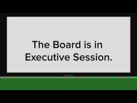 Board Meeting, Part 2 — February 11, 2015