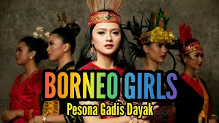 Pesona Gadis Dayak Borneo / Kalimantan Dlm Rangkaian Foto Dan Gambar...