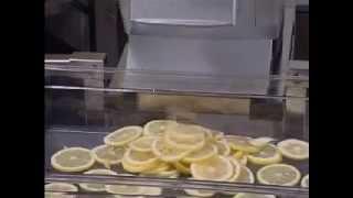 Нарезка лимона ломтиками 4 мм_RG HALLDE_Lemon slice 4 mm_ROVABO