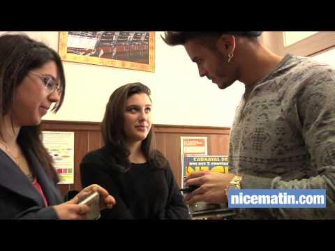 Vidéo. Baptiste Giabiconi face aux lecteurs de Nice-Matin