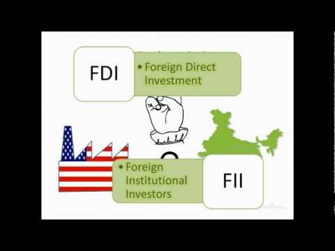 FDI and FII