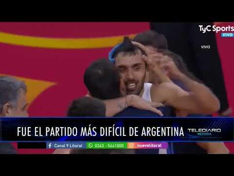 Chuzo González analiza el triunfo de Argentina ante Serbia
