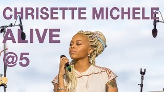 "Chrisette Michele Performing ""Epiphany"" and ""What You Do"" at Alive @ 5"