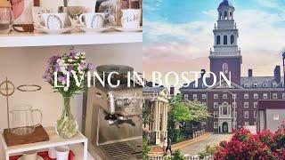Boston Vlog | 브레빌 커피머신. 미국 고양이…