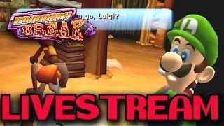 Boundary Break: Luigis Mansion Livestream (4/2/17)