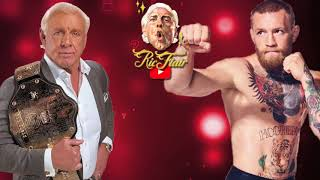 Ric Flair on  Conor McGregor trashing the WWE