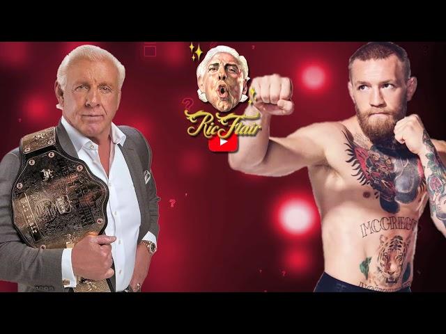 Ric Flair on  Conor McGregor trashing the WWE
