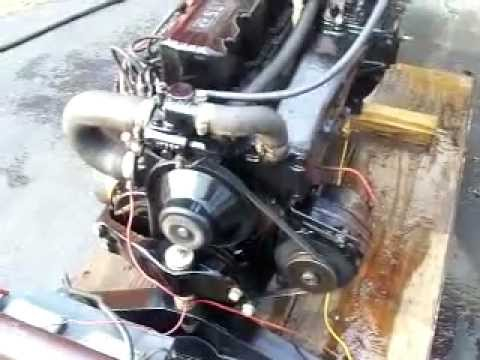 SOLD  Mercruiser 165 Hp Inline 6 Cylinder DROP IN READY motor  YouTube