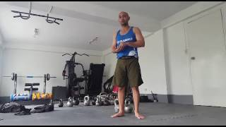 Breathing when doing double snatches in complexes