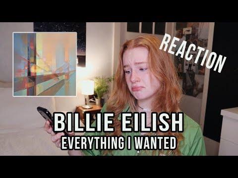 "Billie Eilish - ""everything I Wanted"" - REACTION VIDEO"