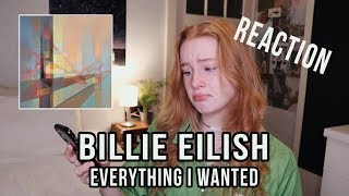 "Billie Eilish - ""everything i wanted"" - REACTION VIDEO"