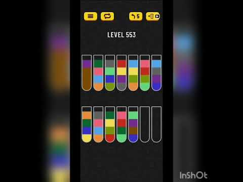 Download Water sort puzzle level 553