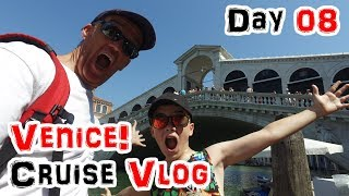 Gondolas, Taxis and Bloody Fish in Venice! 2017 Cruise Day 08 thumbnail