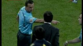red card and goal ronaldo real madrid 1 vs 0 athletic bilbao 8 05 2010