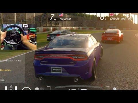 Gran Turismo Sport GoPro - DRIFTING is EASY... Hellcat Online Lobby