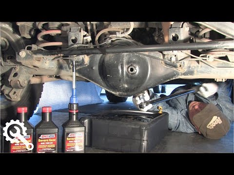 Rear Differential Oil Change