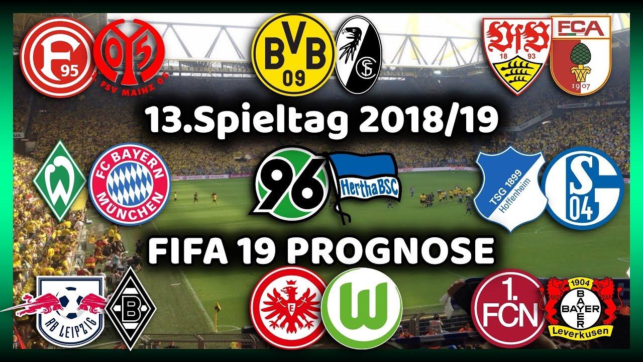 1 Bundesliga 13 Spieltag