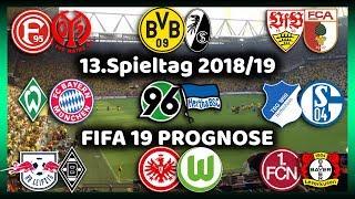 13.Spieltag - Alle Highlights und Tore - Bundesliga Prognose I FIFA 19 I 2018/19 Deutsch (HD)