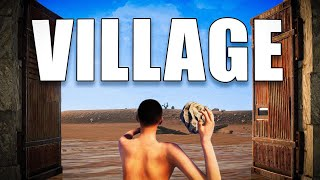 I Infiltrated A Rust Village...