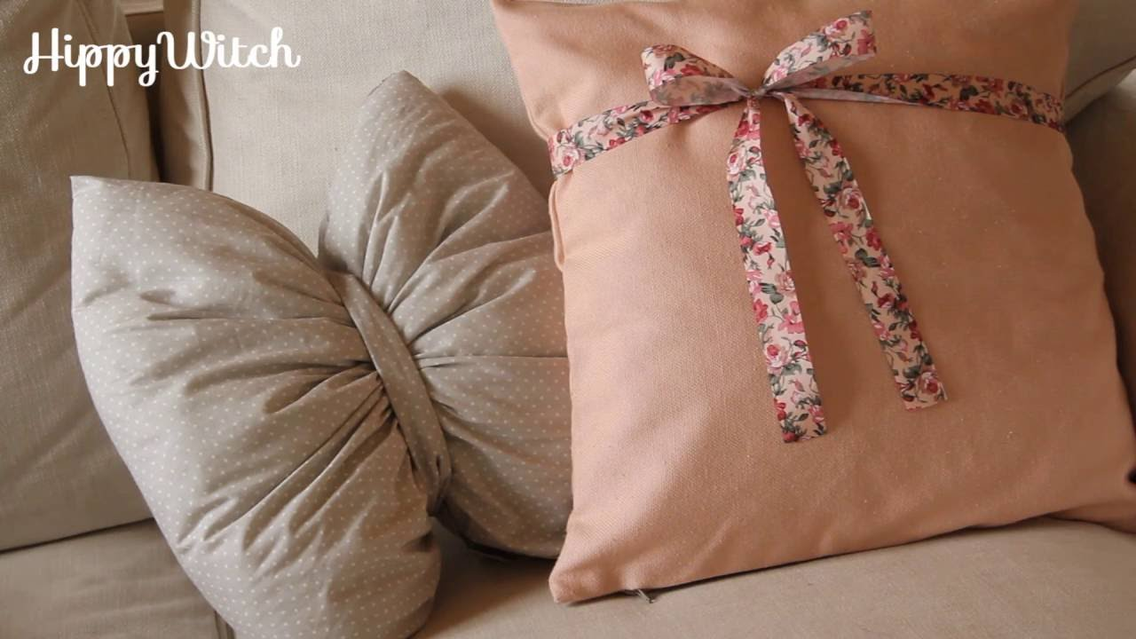 Diy Cuscini Fai Da Te Handmade Pillows Youtube