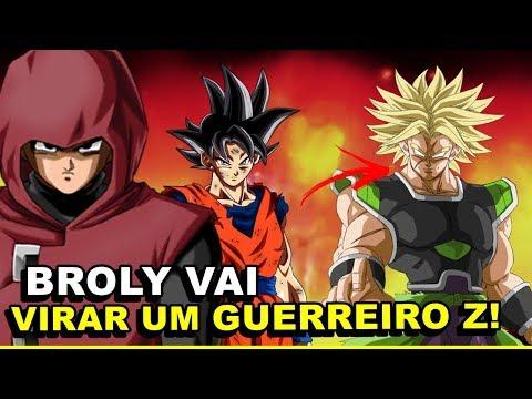 BROLY NÃO MORRE NO FILME E SE TORNA UM AMIGO DE GOKU!  Novo Filme Dragon Ball Super Broly 2018 thumbnail