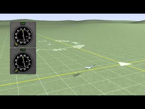 Aviation Animation - Using VORs for VOR Navigation